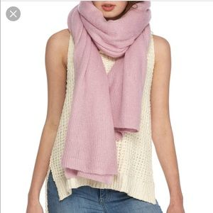 Free People Lavender Scarf